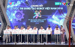 Xem lại các trận đấu tại đêm chung kết Robocon Việt Nam 2018