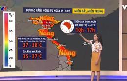 Dự báo thời tiết tuần: Miền Bắc có đợt nắng nóng diện rộng tới 4 ngày