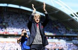 ẢNH: Trận đấu cuối cùng đầy cảm xúc của HLV Wenger