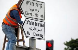 Chuẩn bị khai trương Đại sứ quán Mỹ tại Jerusalem