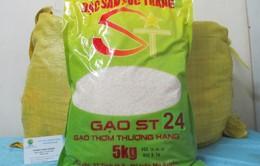 Dẻo thơm gạo ngọc ST24