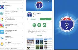 """TP.HCM: Ra mắt """"App cổng thông tin điện tử của ngành Y tế"""" trên điện thoại thông minh"""