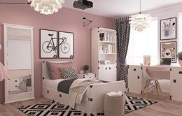 Trang trí phòng ngủ đẹp cho các bé gái