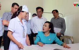 Bộ trưởng Bộ Y tế kiểm tra mạng lưới y tế cơ sở tại Thái Bình