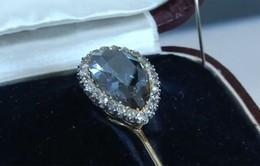 Viên kim cương 300 năm lịch sử Hoàng gia châu Âu được đấu giá