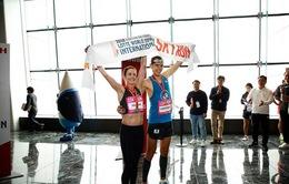 Độc đáo cuộc thi chạy leo cao ốc tại Hàn Quốc