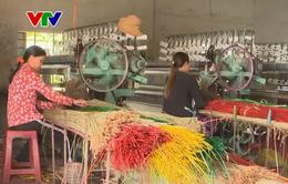Phú Yên thiếu nguyên liệu sản xuất chiếu cói
