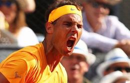 Rome mở rộng 2018: Nadal, Djokovic thẳng tiến vào vòng 3