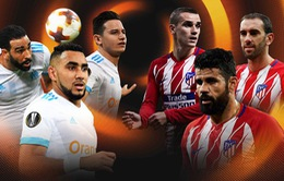 Chung kết Europa League: Marseille - Atletico Madrid (01h45 ngày 17/5)