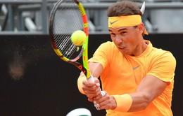 Thắng nhàn Shapovalov, Nadal hẹn Fognini tại tứ kết Rome mở rộng 2018