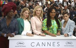 """""""Xóa bỏ ranh giới bất bình đẳng nam - nữ""""- Điểm nhấn tại Liên hoan Phim Cannes 2018"""