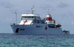 Tàu bệnh viện HQ561 – Điểm tựa cho ngư dân, chiến sỹ yên tâm bám biển