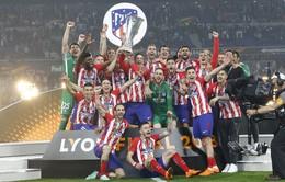 Chung kết Europa League: Griezmann lập cú đúp, Atletico lên ngôi vô địch