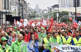 Bỉ: Hàng chục nghìn người biểu tình phản đối cải cách hưu trí