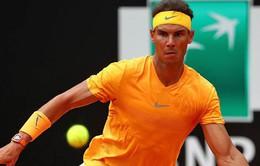 Hạ Shapovalov, Nadal thẳng tiến vào tứ kết Rome mở rộng 2018