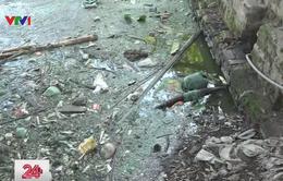 """Làng """"khát"""" nước sạch giữa Hà Nội"""