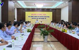 """Thủ tướng: """"Quảng Trị cần lựa chọn lĩnh vực đầu tư trọng điểm"""""""