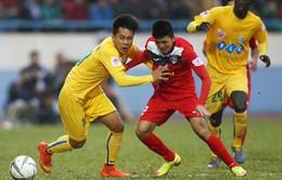 Lịch thi đấu và trực tiếp vòng 8 Nuti Café  V.League 2018: Tâm điểm trên sân Cẩm Phả