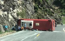 Vụ lật xe khách trên đèo Khánh Lê: Có thể tài xế đã chạy quá tốc độ