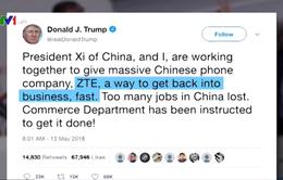Biến chuyển trong đàm phán thương mại Mỹ - Trung