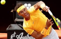 Loại Fabio Fognini, Rafael Nadal giành quyền vào bán kết Rome mở rộng 2018