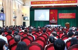 """Ban Tuyên giáo Trung ương hội nghị trực tuyến về """"chiến tranh mạng"""""""