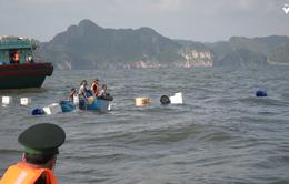 Nghẹt thở xem cảnh bộ đội biên phòng cứu ngư dân bị đắm tàu