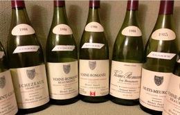 BST rượu vang được dự đoán thu khoảng 13 triệu USD sau đấu giá