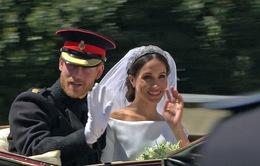 """Đám cưới của Meghan Markle và Hoàng tử Harry """"ngốn"""" 45 triệu USD"""