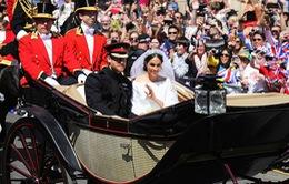 Hoàng tử Harry và Meghan Markle chính thức trở thành vợ chồng