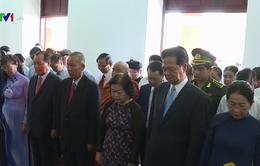 Nguyên lãnh đạo Đảng, Nhà nước dâng hương, dâng hoa tưởng nhớ Chủ tịch Hồ Chí Minh