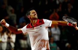 Vượt qua Nishikori, Djokovic gặp Nadal ở bán kết Rome mở rộng 2018