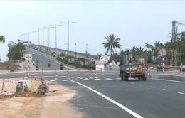 Quảng Nam: Công trình đường dẫn Cầu Cửa Đại cơ bản hoàn thành