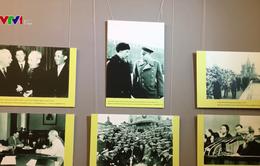"""Triển lãm """"Nguyễn Ái Quốc - Hồ Chí Minh với tình hữu nghị Việt - Nga"""""""