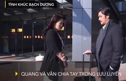 Tình khúc Bạch Dương: Tình yêu đẹp hiếm có giữa Vân và Quang khiến khán giả xúc động