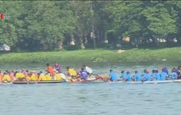 Đua thuyền truyền thống hưởng ứng Festival Huế 2018