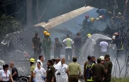 Xác nhận con số nạn nhân vụ tai nạn máy bay ở Cuba