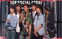 """BTS """"bỏ xa"""" Justin Bieber, đoạt giải Billboard 2018"""