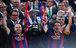 Ảnh: Barcelona chia tay Iniesta trong trận đấu cuối cùng của mùa giải