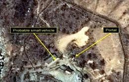 Đoàn phóng viên Hàn Quốc khởi hành tới bãi thử hạt nhân của Triều Tiên