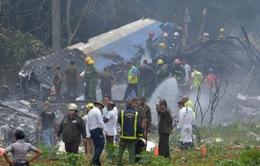 Thêm một nạn nhân thiệt mạng sau vụ rơi máy bay ở Cuba