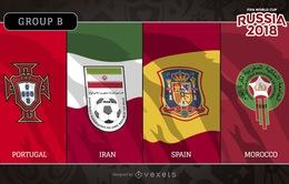 Lịch tường thuật trực tiếp FIFA World Cup™ 2018, bảng B: Chờ đợi Tây Ban Nha và Bồ Đào Nha