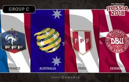 Bảng C World Cup 2018: ĐT Pháp chiếm ưu thế tuyệt đối, chờ đợi Australia và Đan Mạch