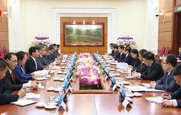 Tăng cường hợp tác Việt Nam - Lào về công tác cán bộ