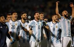 ĐTQG Argentina chốt danh sách dự World Cup 2018
