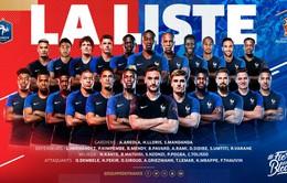 Xét về tổng giá trị tuyển thủ, ĐT Pháp vô địch World Cup 2018