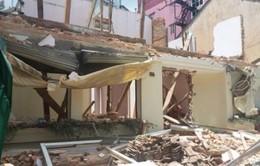 Lâm Đồng: Sập công trình xây dựng, 3 người bị thương