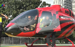 """Indonesia giải quyết tình trạng tắc đường bằng """"taxi trực thăng"""""""