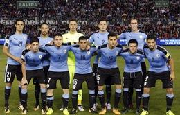 Đường đến World Cup 2018 của ĐT Uruguay: Kẻ thách thức ngôi vô địch!