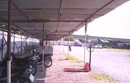 Giải tỏa nhiều bãi giữ xe trái phép trên địa bàn quận Hoàng Mai